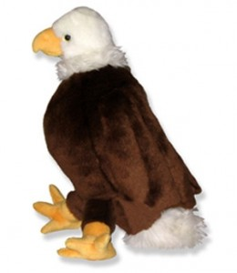 Stuffed animal Eagle