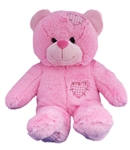 Pink bear stuffed animal