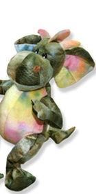 Stuffed animal dragon
