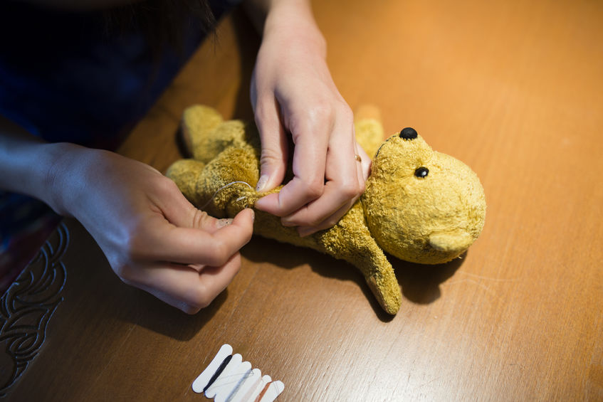 How to Repair Your Child's Stuffed Animal