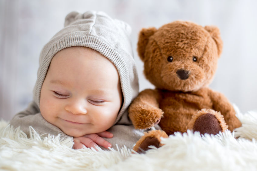 When Is A Newborn Baby Old Enough For Stuffed Animals?