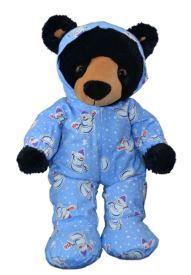 Teddy Bear in Blue PJs