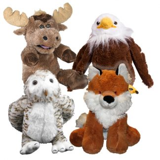 """8"""" Forest Friends Four Pack"""