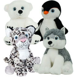 "8"" Arctic Animal Party Package"