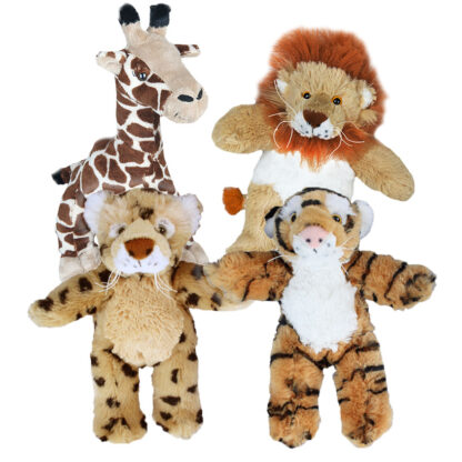 """8"""" Zoo Animals Four Pack"""