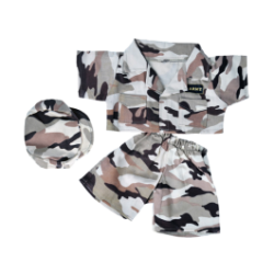 Army Camo Outfit for Stuffed Animals