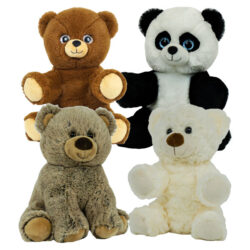 4 Pack of Stuffable circus Bears