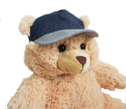 Denim Hat for Stuffed Animals