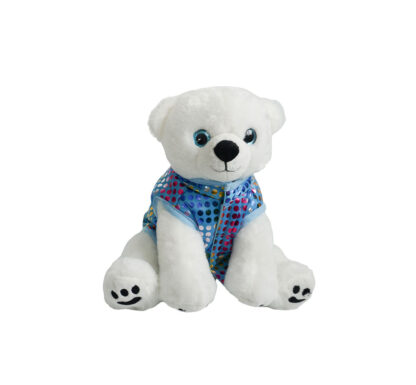 Blue Puff Vest for Stuffed Animals