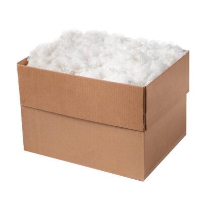 Box of Stuffed Animal Stuffing