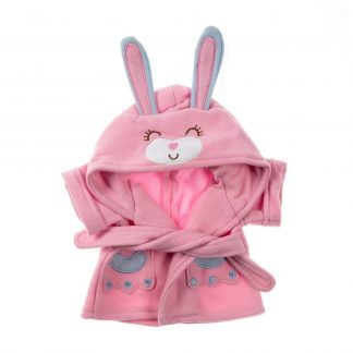 Bunny Bathrobe for Stuffed Animals
