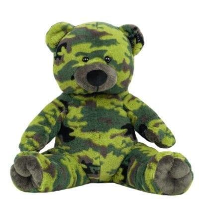 Camouflage Stuffable Teddy Bear