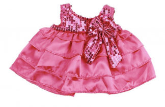 Candy Dress for Stuffed Animals