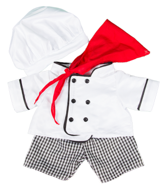 Chef Outfit for Stuffed Animals