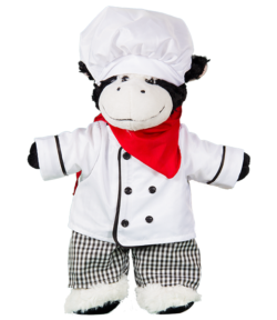 chef's outfit for stuffed animals