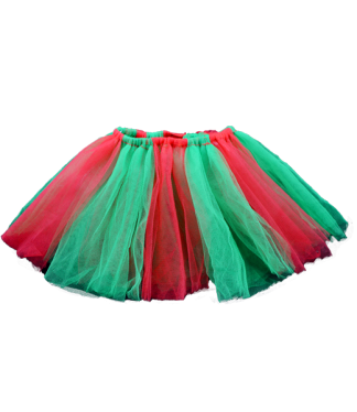 "Christmas Tutu for 16"" Stuffed Animals"