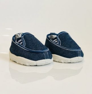 Denim Shoes for Stuffed Animals