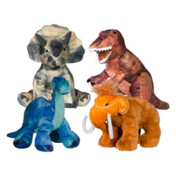 "8"" Dinosaur Four Pack"