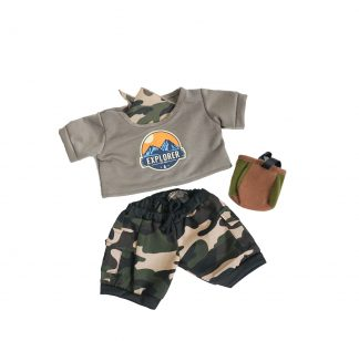 Explorer Outfit for Stuffed Animals