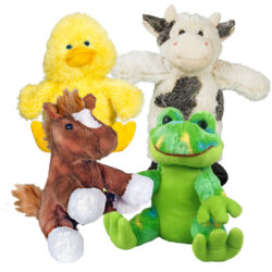 "8"" Farm Animals Four Pack"