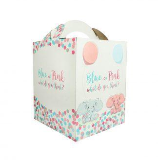 Gender Reaveal Stuffed animal box
