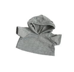 Grey Hoodie for Stuffed Animals