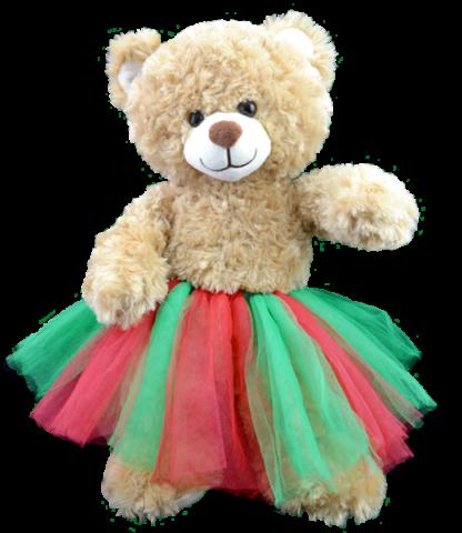 "Holiday Tutu for 16"" Stuffed Animals"