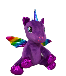 Baby Luna Purple Winged Unicorn