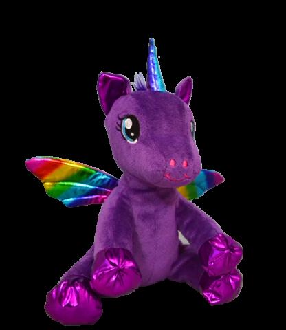 Baby Luna Purple Winged Unicorn