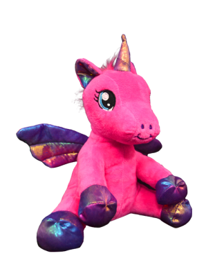 Baby Nova Pink Winged Unicorn