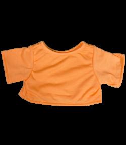 "Orange T-Shirt for 16"" Stuffed Animals"