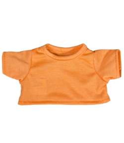"Orange T-Shirt for 8"" Stuffed Animals"
