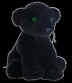 """16"""" Black Panther Stuffable Animal"""