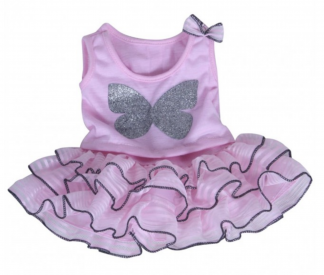 Pink Top and Tutu for Stuffed Animals