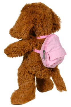 Pink Backpack for Stuffed Animals