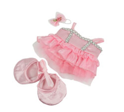 pink ballerina Outfit for Stuffed Animals