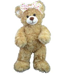 Polka Dot Bow for Stuffed Animals