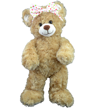 Polka Dot Bow for Stuffed Animals
