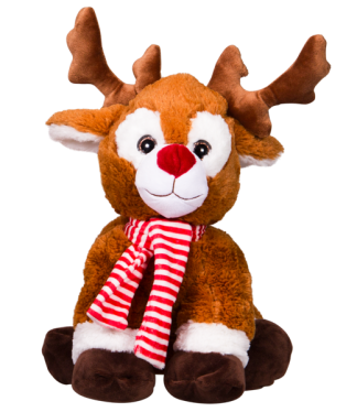 Red Nosed Reindeer Stuffable Animal