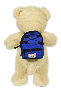 Royal Blue Back Pack for Stuffed Animals