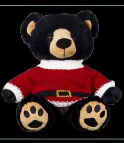 "8"" Santa Sweater for Stuffed animals"