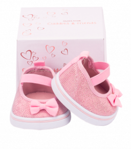 Pink Shoes for Stuffed Animals