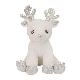"""16"""" Snowflake Reindeer Stuffable Animal"""