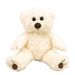 Baby White Twisty Bear