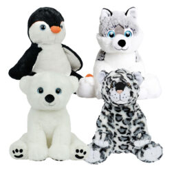 Artic Four Pack of Stuffable Animals