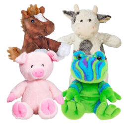 4 Pack of Farm Stuffable Animal