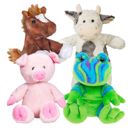 4 Pack of Farm Stuffable Animal