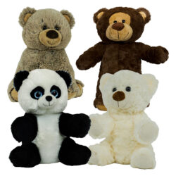 "8"" Circus Bear Four Pack"