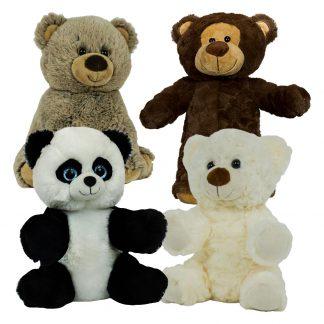 "8"" Circus Bear Four Pack"