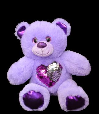Glitz the Purple Bear